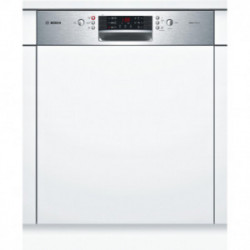Bosch SuperSilence Lave-vaisselle 60cm Intégrable Inox  SMI46IS00H (3E)