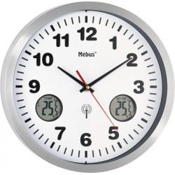 Mebus horloge murale 41246 Funk-Wanduhr
