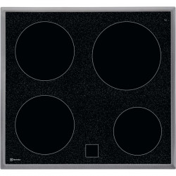Electrolux Plan de cuisson vitrocéramique, GK56CN, encastrable 55 cm / 60 cm (949596666)
