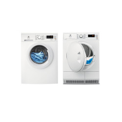 Electrolux set de lavage : lave-linge EW2F6824BA + sèche-linge EW7H5822EB