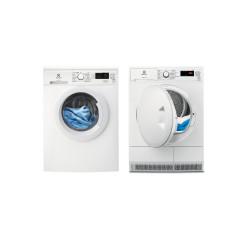 Electrolux set de lavage : lave-linge EW2F6824BA + sèche-linge EW7H4804DP