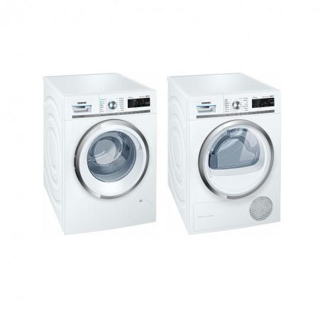 Siemens Set de lavage: WM16W790CH Lave-linge + WT7HXK80CH Sèche-linge