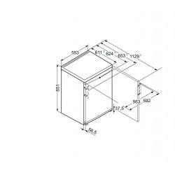 Liebherr Tischgefrierschrank mit SmartFrosh GP 1213 GP1213