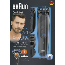 Braun Personal Care tondeuse à barbe/cheveux MGK 3045